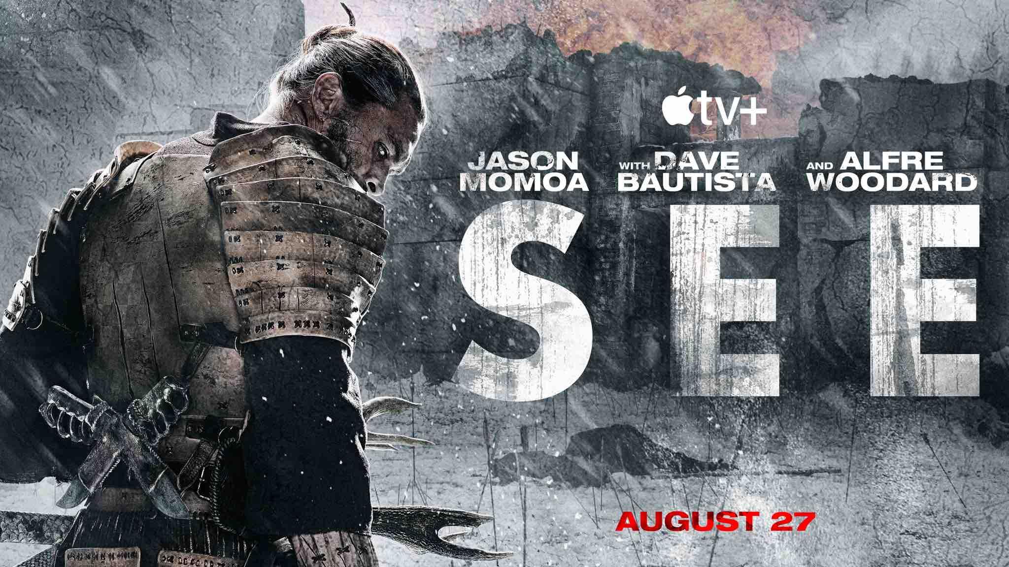 Poster artwork for Season 2 of Apple TV+ show See