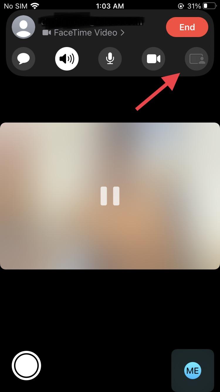 Share Screen FaceTime