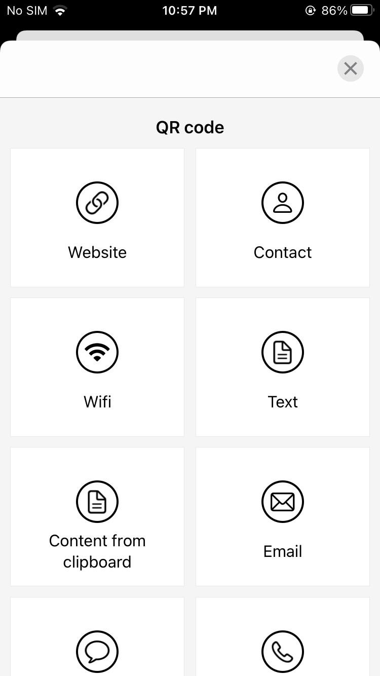 Create QR Code iOS
