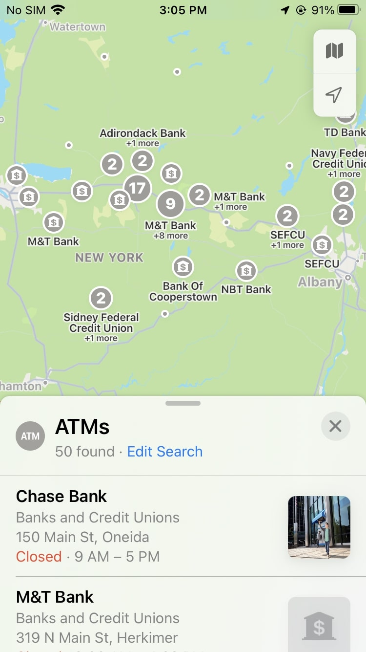 Places of Interest Apple Maps