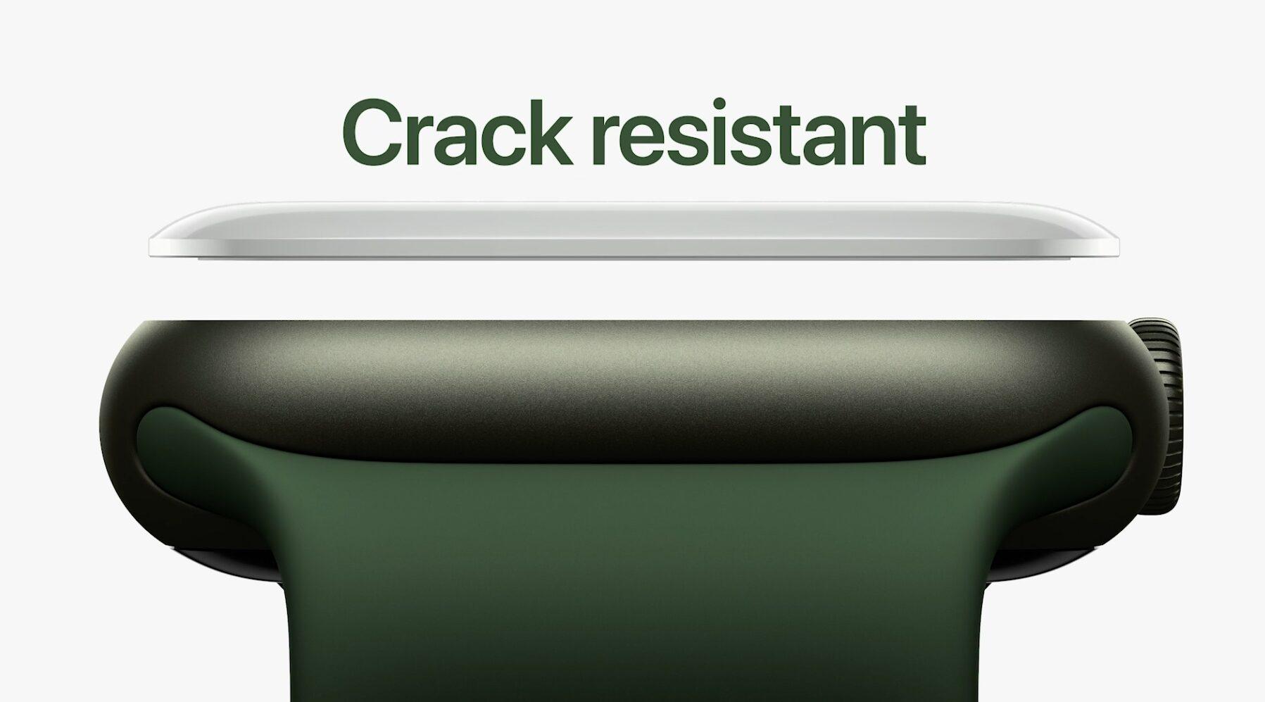 Apple Watch 7 crack resistant