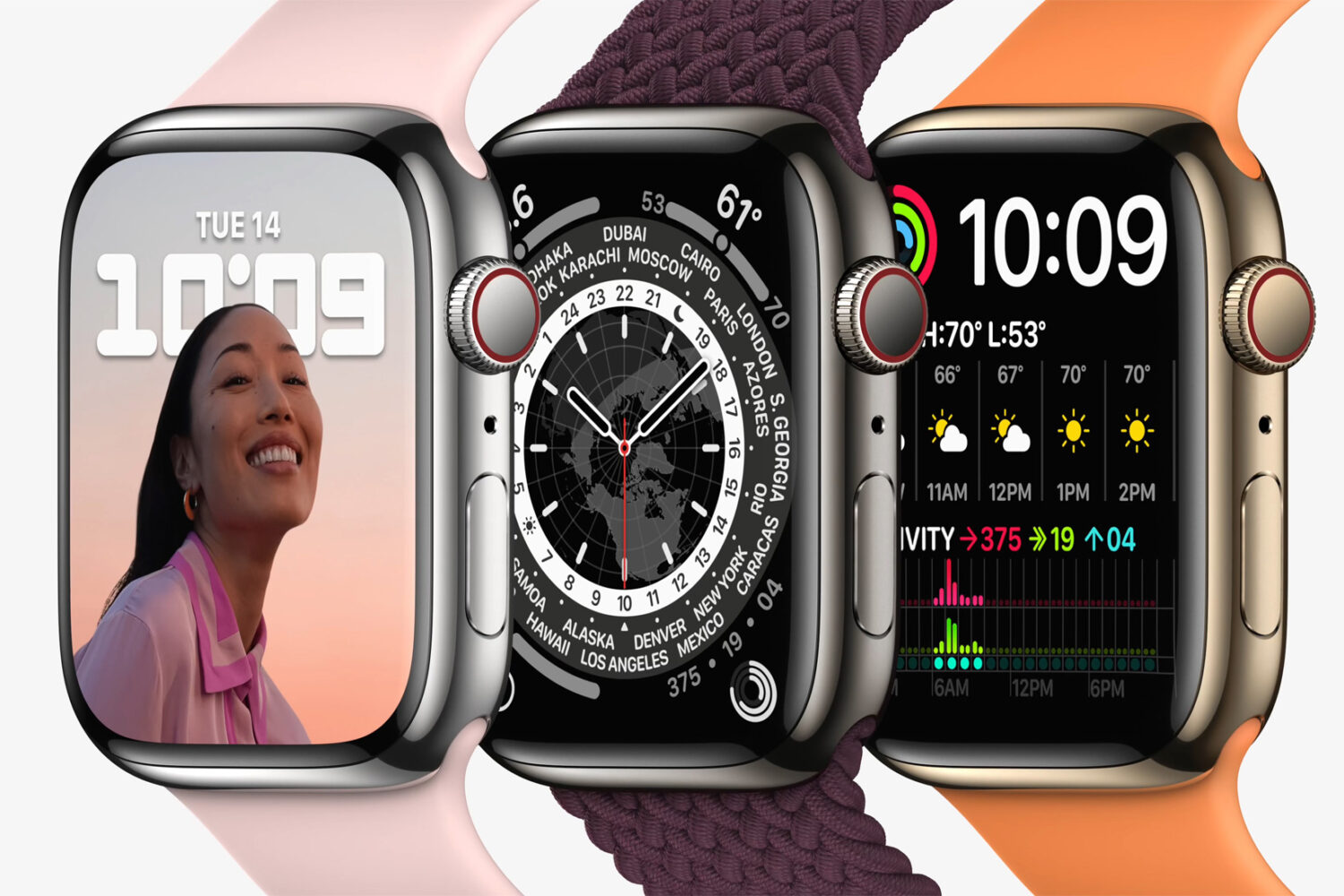 Apple Watch Series 7 lineup is arriving in stores on Friday, October 15