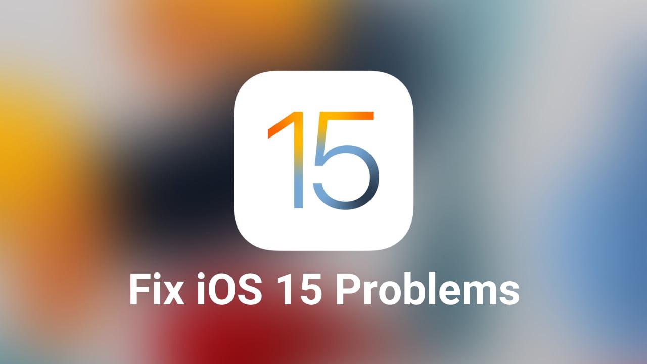 Fix iOS 15