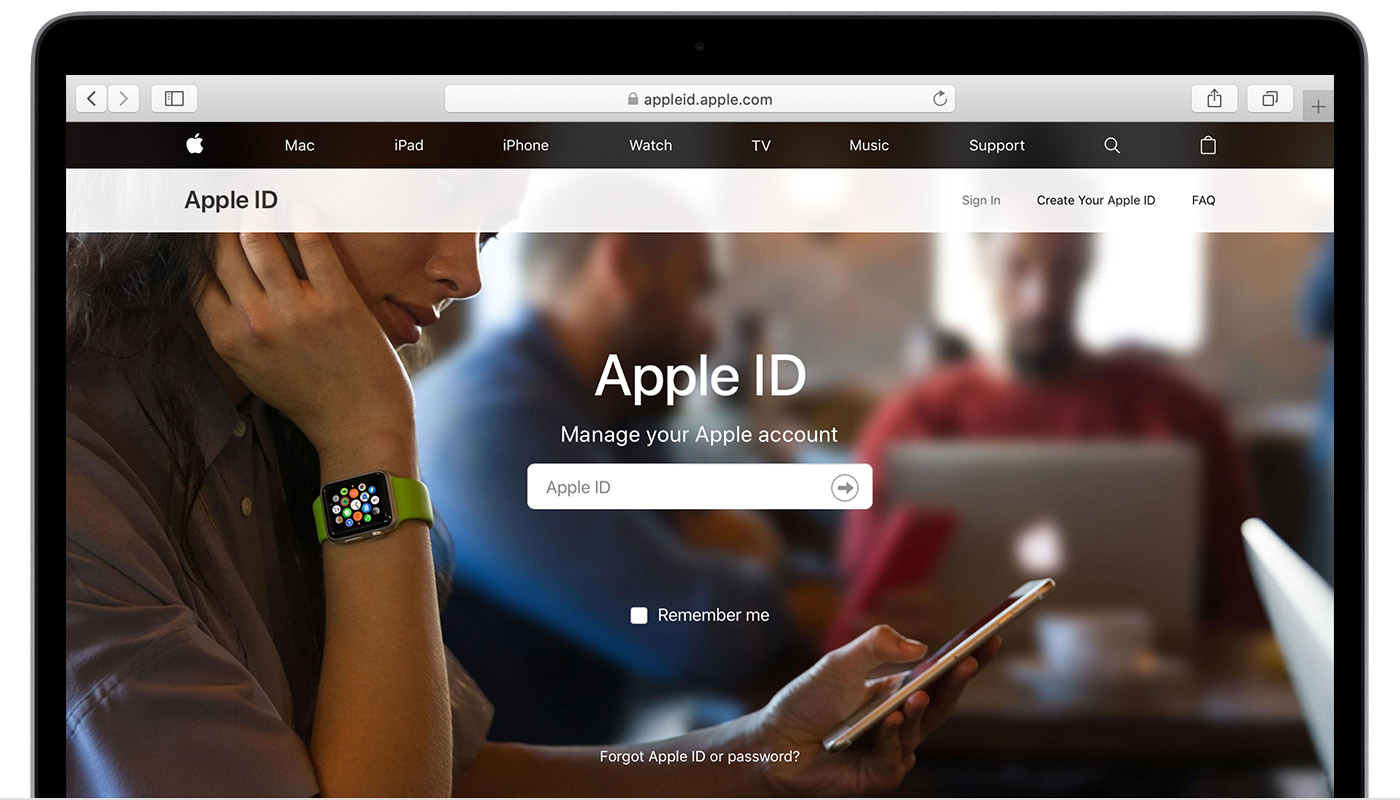 Find your Apple ID