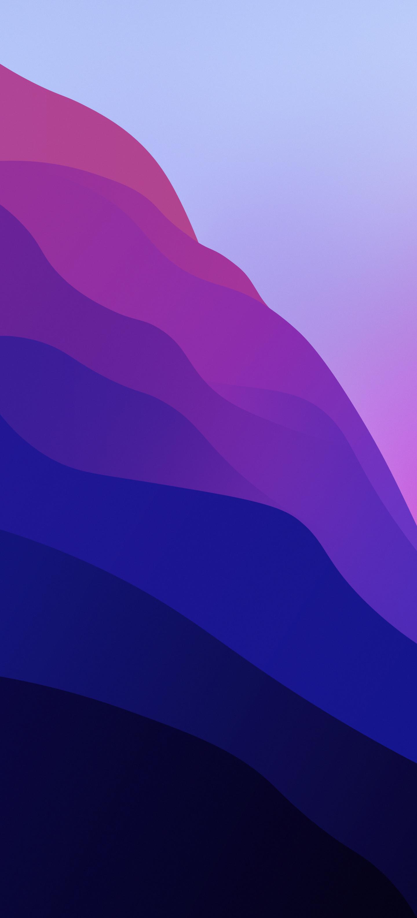 Sforum - Trang thông tin công nghệ mới nhất Waves-wallpaper-Arthur1992aS-iDownloadBlog-V3 Mời bạn tải về bộ hình nền iPhone theo chủ đề của macOS Monterey
