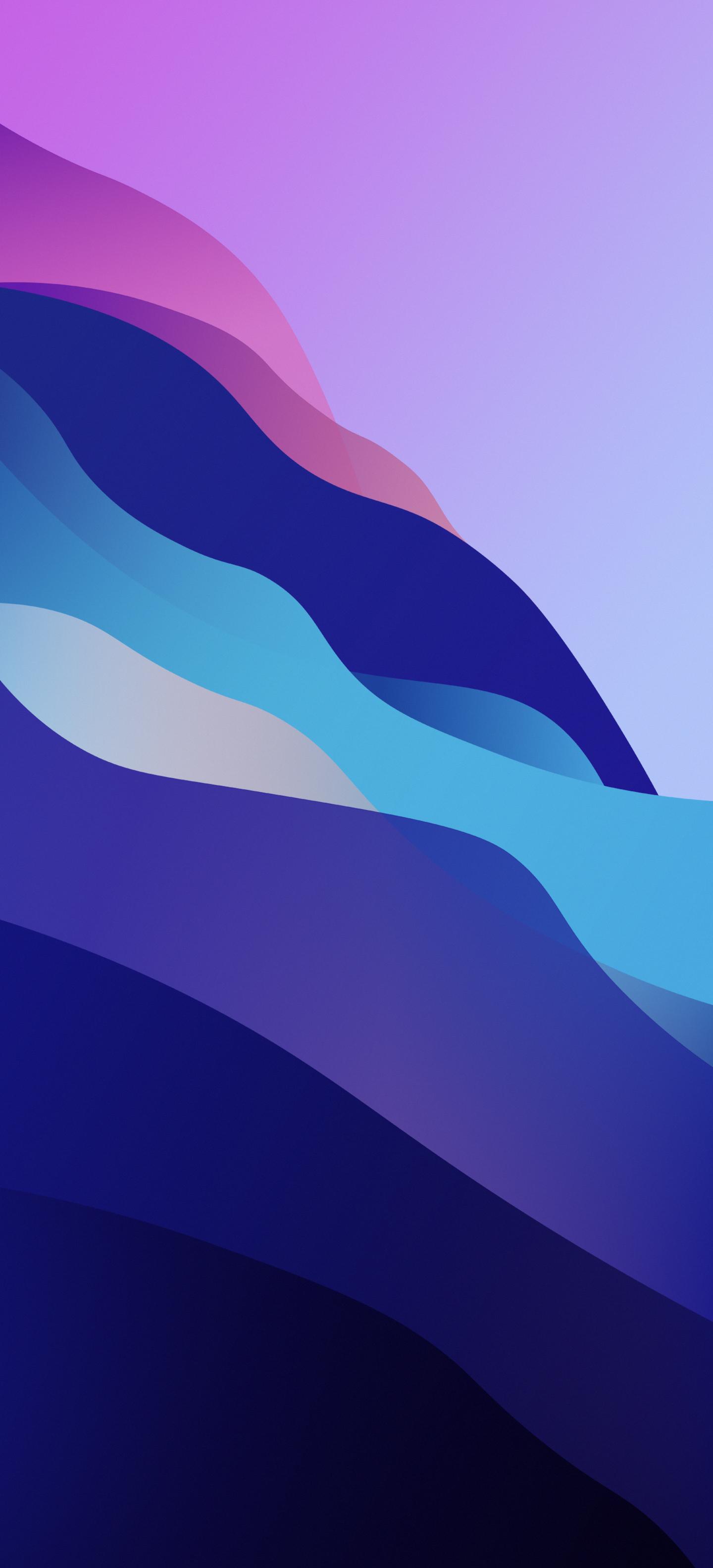 Sforum - Trang thông tin công nghệ mới nhất Waves-wallpaper-Arthur1992aS-iDownloadBlog-V4 Mời bạn tải về bộ hình nền iPhone theo chủ đề của macOS Monterey